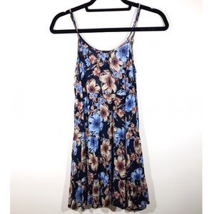 En Creme Black Floral Dress